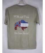 State Legacy Revival XXL T-Shirt S.L. Co Wild and Free Southern Buffalo ... - $19.87