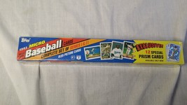 1993 Topps Baseball Micro 825 Cards Factory Sealed Set Derek Jeter Rookie  - $59.95