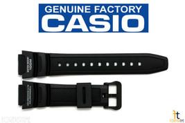 CASIO SGW-300H-1AVH Original 18mm Black Rubber Watch BAND Strap SGW-400H... - $19.95