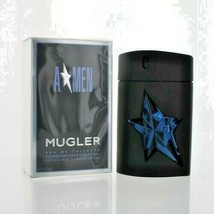A Men By Thierry Mugler 3.4 O.Z Edt Refillable Spray *Men's* New In Box - $39.99
