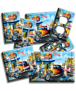 RETRO DINER HOT ROD FLAMES CAR LIGHT SWITCH OUTLET WALL PLATES GARAGE CAFE DECOR - $10.99 - $21.99
