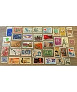 Canada Stamps Used Lot of 35 - $6.25