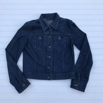DKNY Jeans Women's Blue Denim Jacket Size M - $17.37