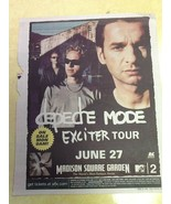 Lot of 3 Full Page Depeche Mode Concert Listing Village Voice 98/01 - $9.89