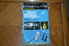 Unopened bag of 3 Hoover Type A vacuum bags, for Hoover and Bissell. - $3.99