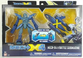 Disney Mech-X4 and Battle Submarine 5 inch Action Figure Set - $14.96