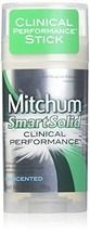Mitchum SmartSolid Clinical Performance Stick 2.5 Ounce Pack of 2