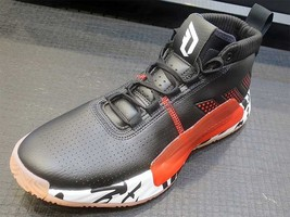 Adidas DAME 5 Black/Red/White EE4047 Basketball Shoes  - $148.00