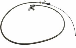 Ford C4 Stainless Steel Transmission Kick Down Cable Bronco Mustang Fairlane image 5