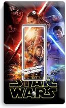 STAR WARS FORCE AWAKENS JEDI LEIA SINGLE GFCI LIGHT SWITCH WALL PLATE RO... - $11.99
