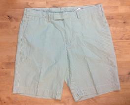 $79 Polo Ralph Lauren Men's Casual Seersucker Stripe Shorts, Apple Green, 36 - $44.54