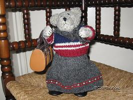 German Woolen Musical Bear Plays My Way Vintage - $67.54