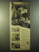 1950 Canada Tourism Ad - Find new play country, new things to do - in Ca... - $14.99