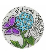 Tom & Co. WELCOME BUTTERFLY GARDEN STEPPING STONE - $19.04