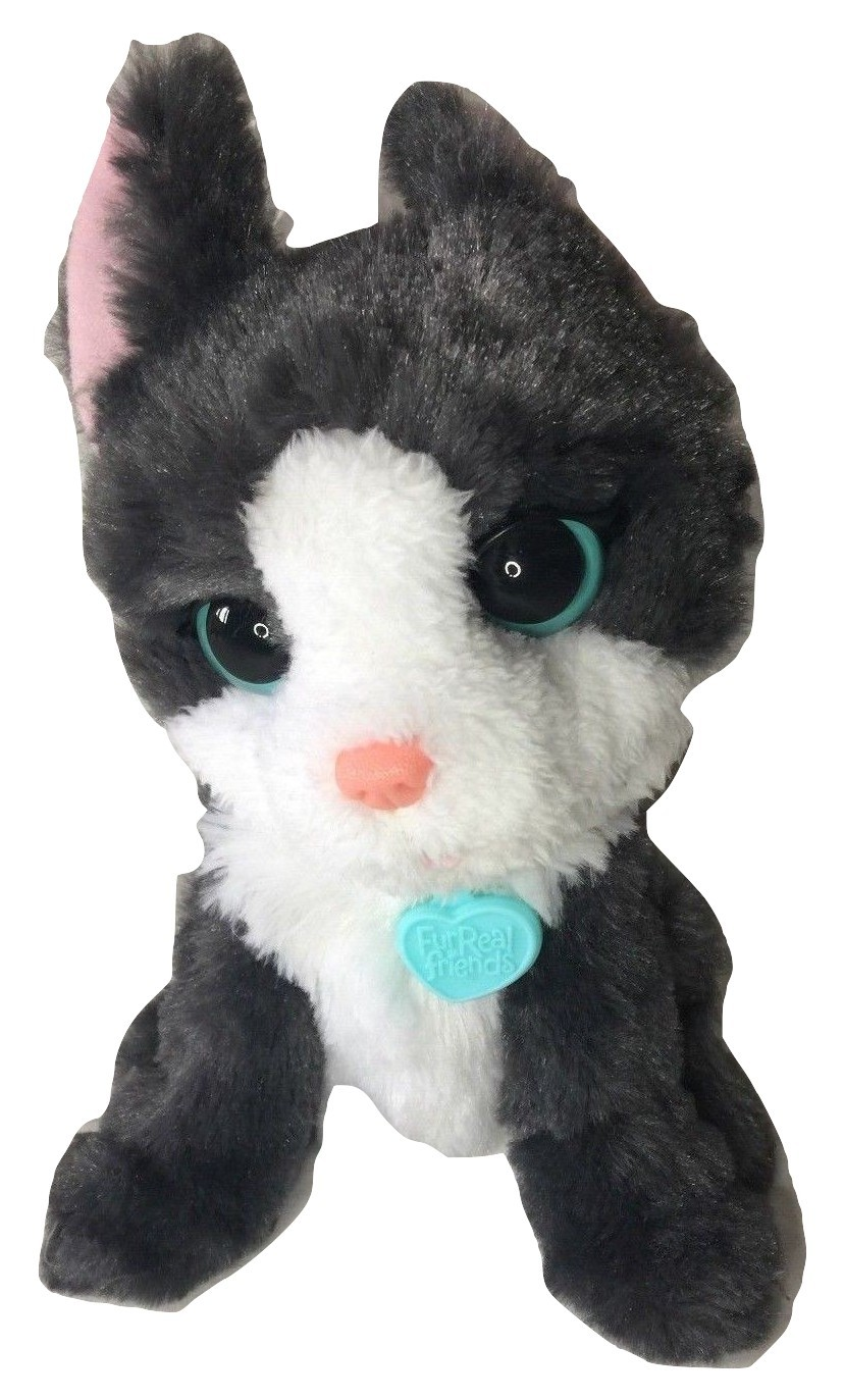 Primary image for FurReal Friends Li'l Big Paws Treat Time Frankie Grey Dog Plush Interactive Pet