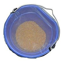 Horse Spa Mesh Bucket Top Large 20 Quart 5 Gallon Horse Feed Bucket Cover image 1
