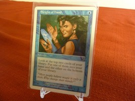 x1 SLEIGHT OF HAND 7th Edition 2001 MTG Playing Cards English - $4.94