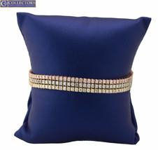 """Exquisite Ladies 14K Tri-Color Gold 7.08 CT Diamond 3-Row Tennis 7.00"""" B... - $4,499.44"""