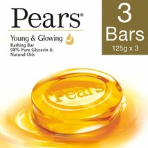 Pears Pure and Gentle Soap Bar, 125g (Pack of 3) - $15.48