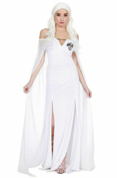 Dreamgirl Dragon Beauty Game Of Thrones Daenerys Adulto Halloween Costume 11552 image 2
