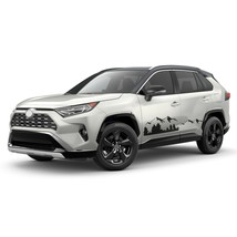 Mountain Stripes For RAV4 TOYOTA Decal Off Road 4x4 graphics 2019 2020 2... - $45.53+