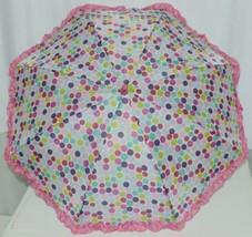 RainStoppers W104CHBRIDOT Multicolored Manual Open Umbrella Dots image 2