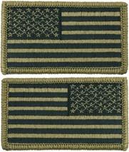 "OCP US Flag Patch Hook Back 1 3/16"" X 3 1/4"" Military Army Camo Uniform ... - $6.99"