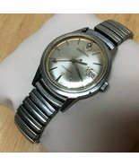 Vintage Croton Aquamatic Mens Diamond Swiss Hand-Winding Watch Hours~Runs & Stop - $73.88