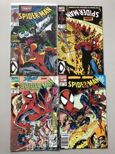 Lot of 8 Spider-Man (1990) from #2-70