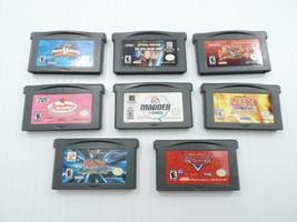Game Boy Advance GBA Game Cartridge Lot 8 Cars Naruto Yu-Gi-Oh Star Rang... - $39.99