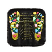 Foot Massage Stone Pad Health Care Leg Body Pain Reflex Relieve Colored ... - $12.19