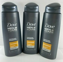 3 Dove Men + Care Fortifying Shampoo Thickening Caffeine Calcium 13.52 fl oz ea - $34.40