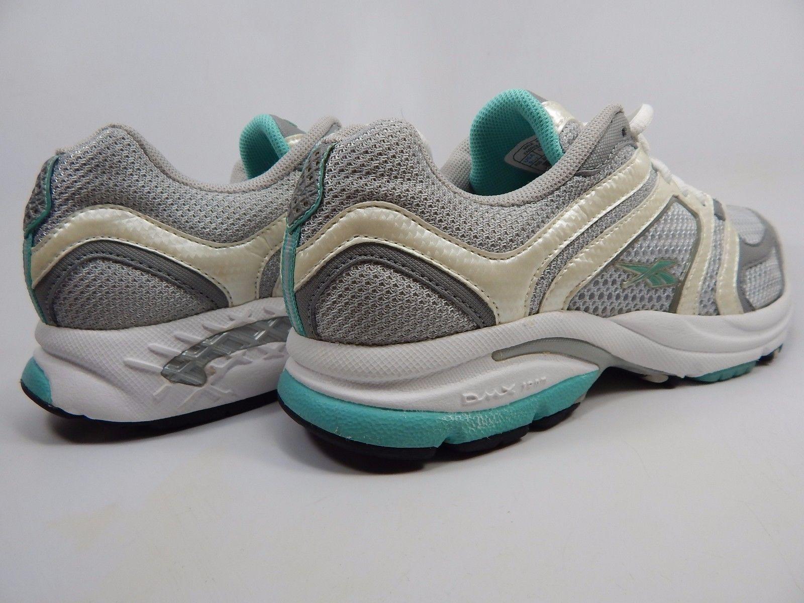 Reebok RB 804 FLU Women's Running Shoes Size US 9.5 M (B) EU 40.5 Silver Green