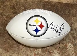 Ben Roethlisberger Autographed Signed Pittsburgh Steelers Logo Football w/COA - $275.00