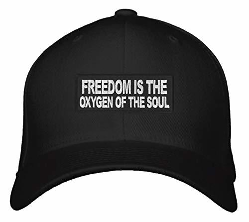 Freedom Is The Oxygen Of The Soul Hat - Adjustable Snapback Cap