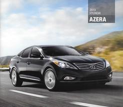 2013 Hyundai AZERA sales brochure catalog 13 US Technology - $6.00