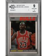 1987 Fleer Michael Jordan #59 BCCG Beckett 9 P499 - $275.66