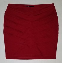 Forever 21 Short Red Skirt Juniors Size Small Tiered Mini Valentine's Day - $13.03