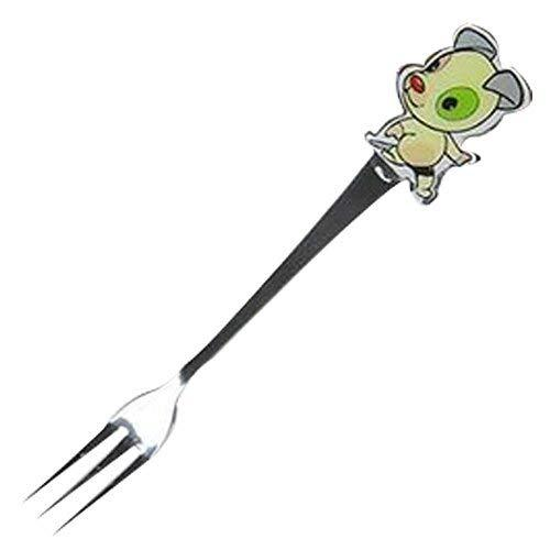 Panda Superstore 3 Pcs Lovely Cartoon Dog Children Tableware Stainless Cutlery F