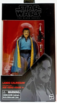Star Wars The Black Series #39 Lando Calrissian Bespin ESB 6 in action figure - $19.88