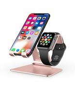 OMOTON Apple iPhone/Apple Watch Stand, Rose Gold (KM) - $4.51