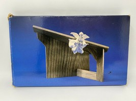 vintage Avon Christmas Nativity THE STABLE 1985 - $26.72
