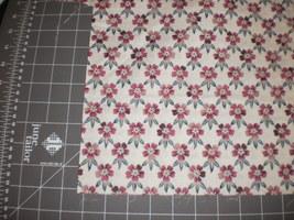 "Wood Blocks (Woodblocks) Hoffman California Fabrics floral 45"" Long OOP - $19.95"