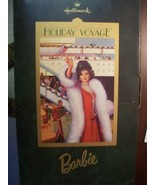 """HALLMARK EXCLUSIVE """"HOLIDAY VOYAGE"""" BARBIE DOLL MINT IN BOX - $17.82"""