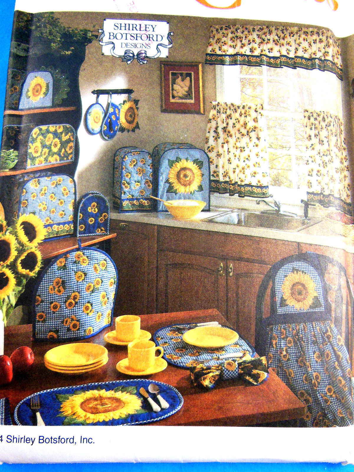 Primary image for SIMPLICITY CRAFTS PATTERN 8880 SHIRLEY BOTSFORD DESIGNS KITCHEN ACCESSORIES