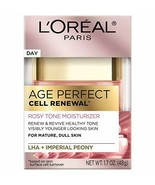 L'Oreal Paris Skincare Age Perfect Rosy Tone Face Moisturizer for Visibl... - $15.88