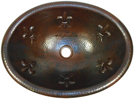 "Copper Bathroom Sink ""Michigan"" - $95.00"