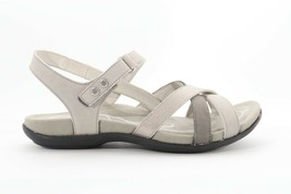 Abeo Women's Laguna Sandals Gray  size US 6.5 Neutral Footbed  (EPB)4480 - $86.00