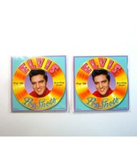 2  Elvis Pop Shots Pop-Up Greeting Cards - Rock'n Birthday & Lonesome To... - $12.99