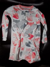 Carter's Just One You Fox Print Sleeper Size 18 Months Girl's NWOT - $14.40